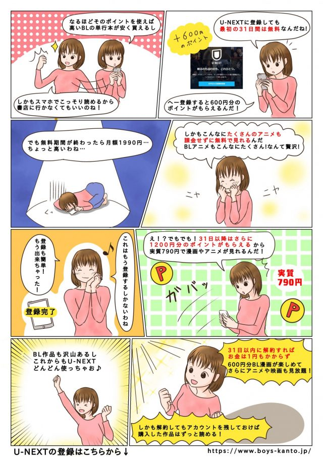 BL漫画 無料